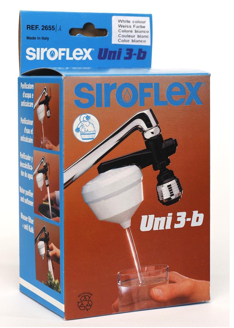 Purificateur d'eau UNI3b SIROFLEX avec adapatateurs tous robinets
