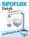 Purificateur d'eau UNI3 SIROFLEX. Kit de base complet à seulement frs. 29.-