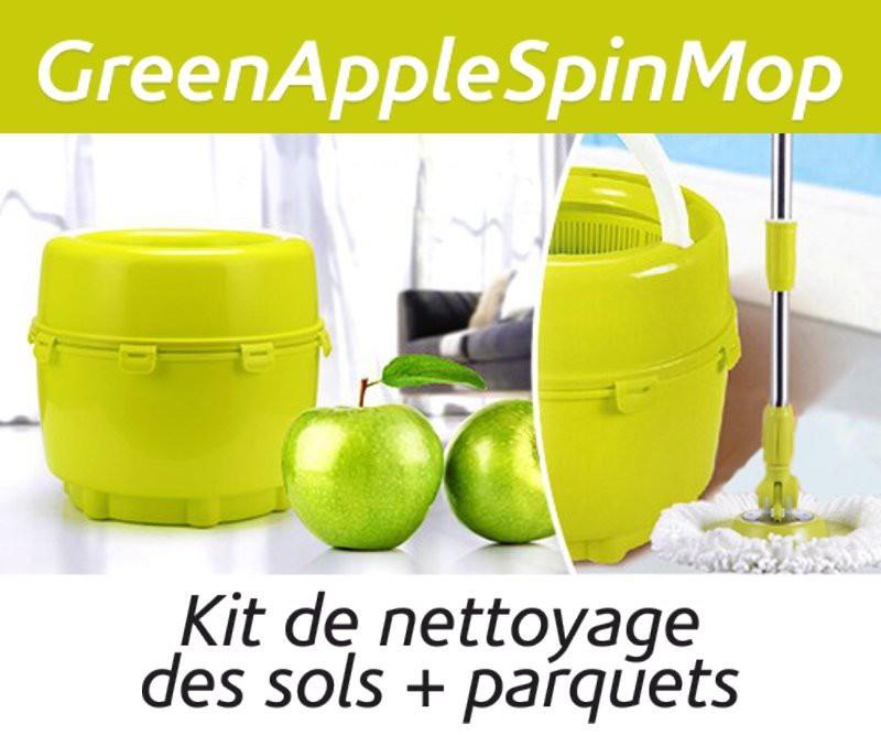 GREEN APPLE SPIN  maintenant 29 Fr. au lieu de fr.59.-
