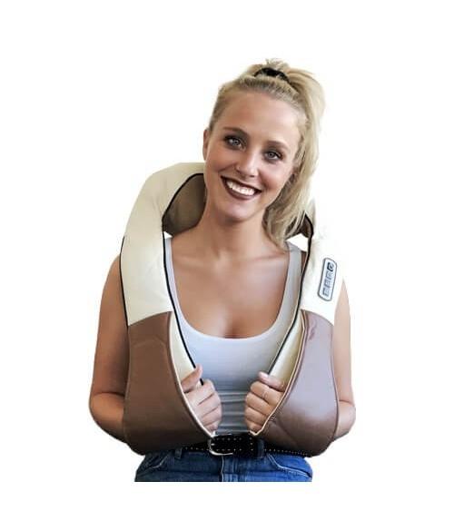 Position correcte pour le massage du cou