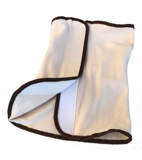 Tissu de protection pour ceinture de massage