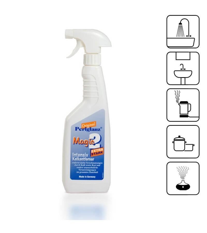 Détartrant - nettoyant extra performant et rapide Bouteille de 750 ml. avec vaporisateur