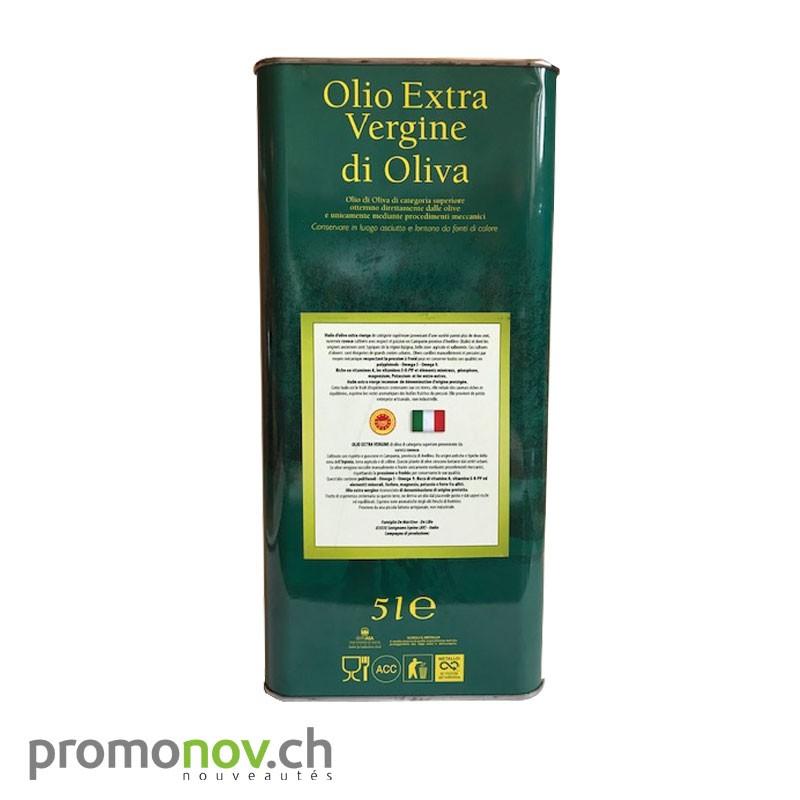 """5 Lt. estagnon Huile d'olives """"nouvelle"""" Extra vierge pression à froid"""