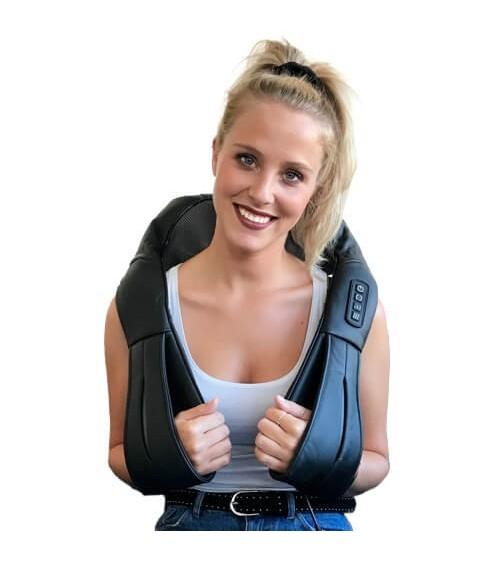 Massage des muscles trapèzes avec accumulateur/batterie interne